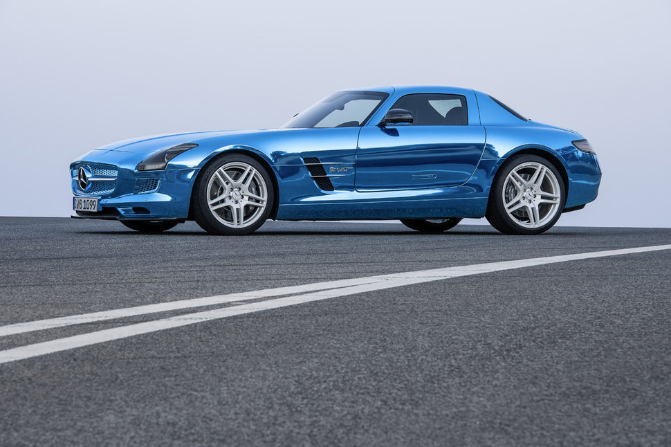 Photo 750CH : Mercedes SLS AMG Electric Drive