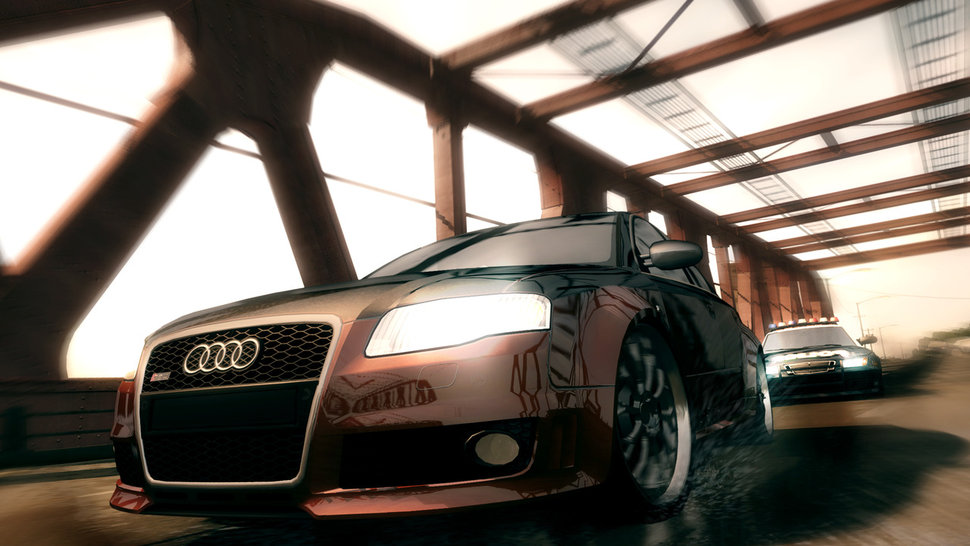 Photo Audi RS4 Need For Speed Undercover