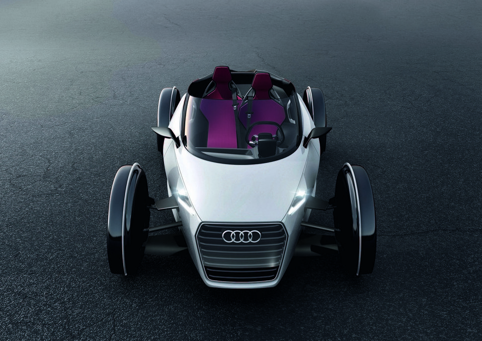 Photo Audi Urban Concept Spyder face avant calandre