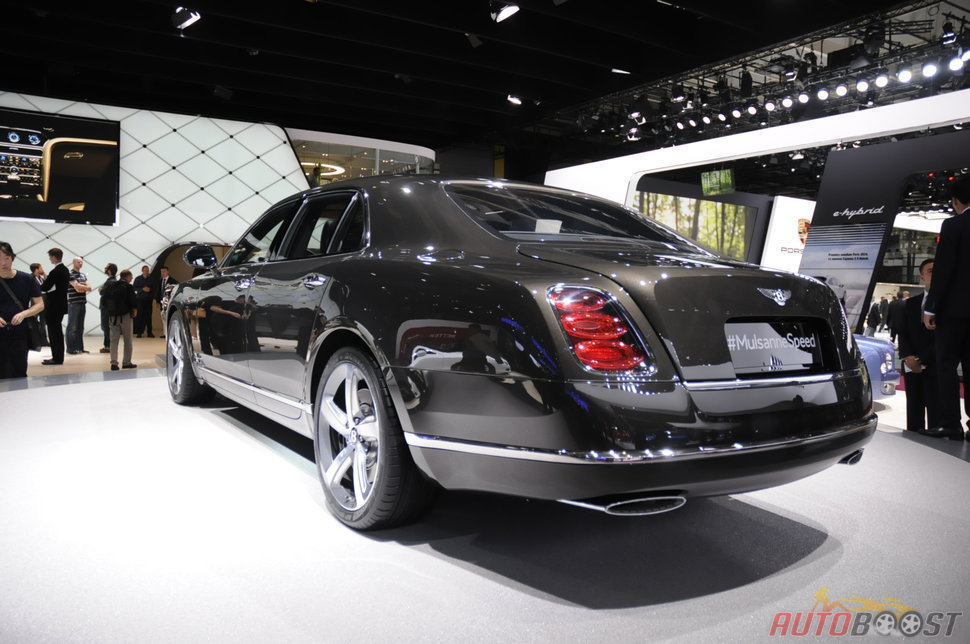Photo auto Paris 2014 : Bentley Mulsanne Speed