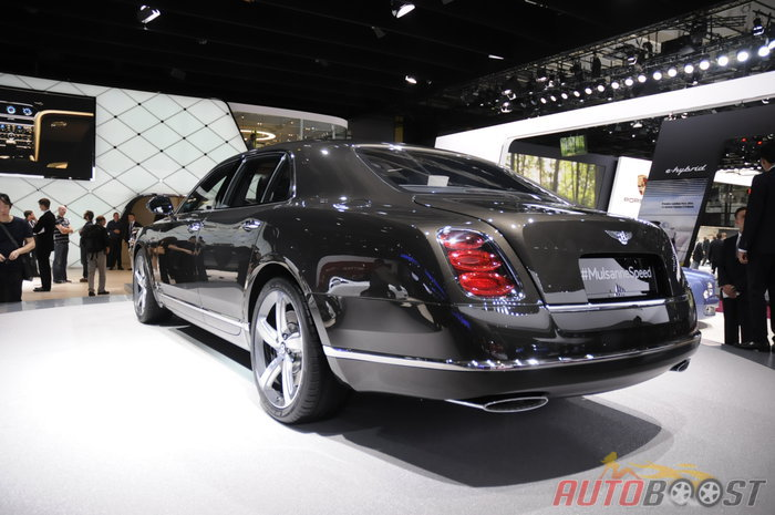 auto Paris 2014 : Bentley Mulsanne Speed