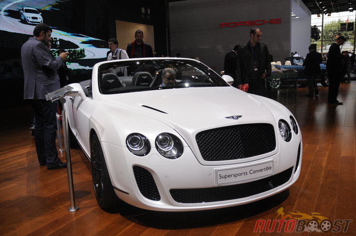 Bentley Supersports Convertible (mondial auto 2010)
