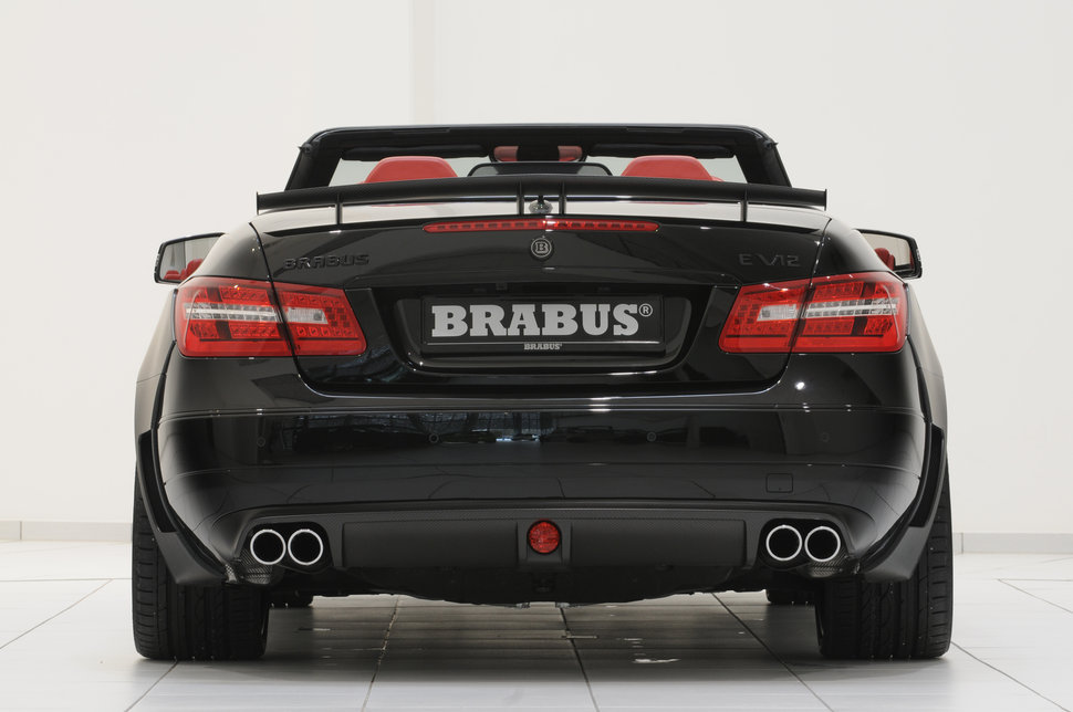 photo brabus 800 e v12 cabriolet 4 sorties d 39 echappement. Black Bedroom Furniture Sets. Home Design Ideas