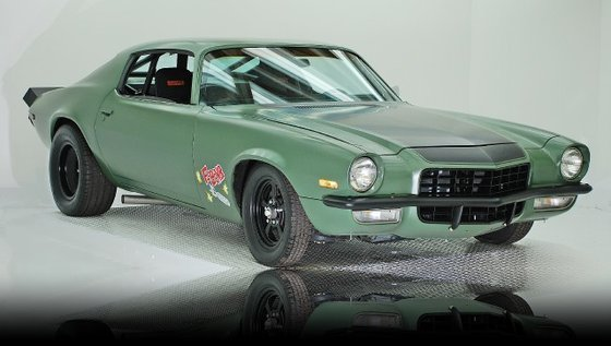 Chevrolet Camaro F-Bomb Verte Fast and Furious 4