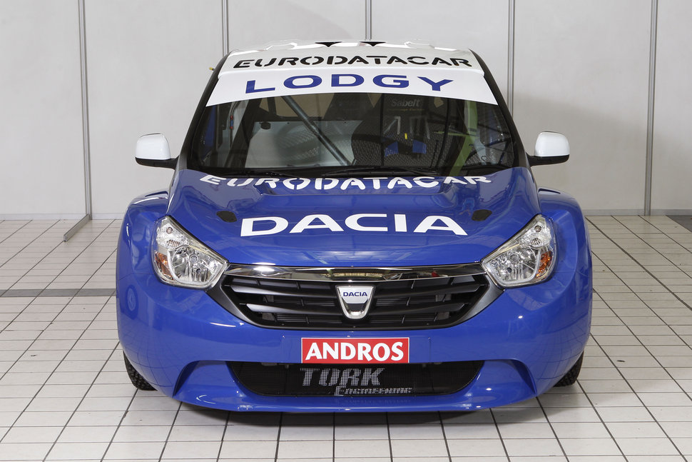 Photo Dacia Lodgy d'Alain Prost
