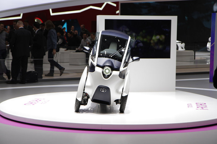 direct Genève 2013 : Toyota i-Road Concept