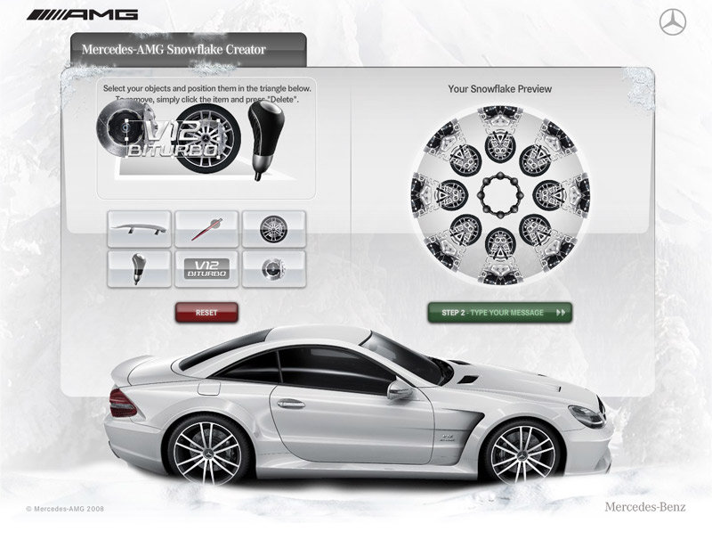 Photo e-card Mercedes Amg