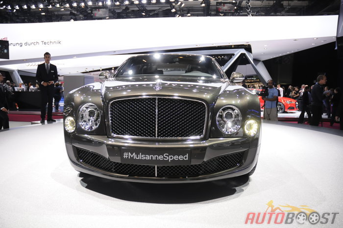 en direct de Paris : Bentley Mulsanne Speed