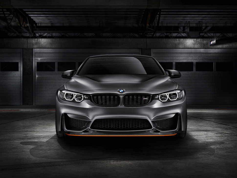 Photo face avant - Concept BMW M4 GTS
