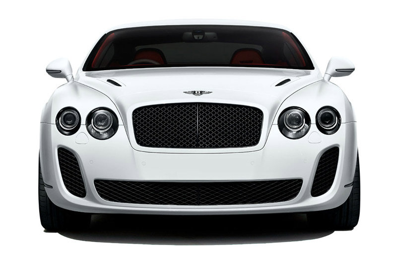 Photo face avant de la Bentley Continental Supersports