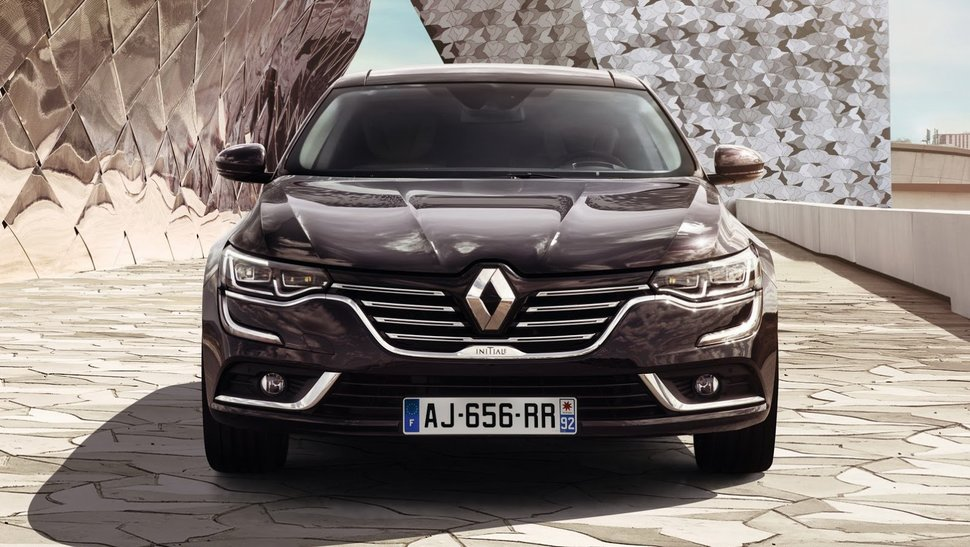 Photo face avant : Nouvelle Renault Talisman