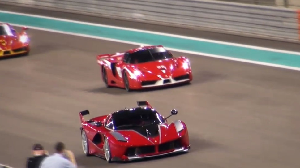 Photo Ferrari FXX K circuit Abu Dhabi
