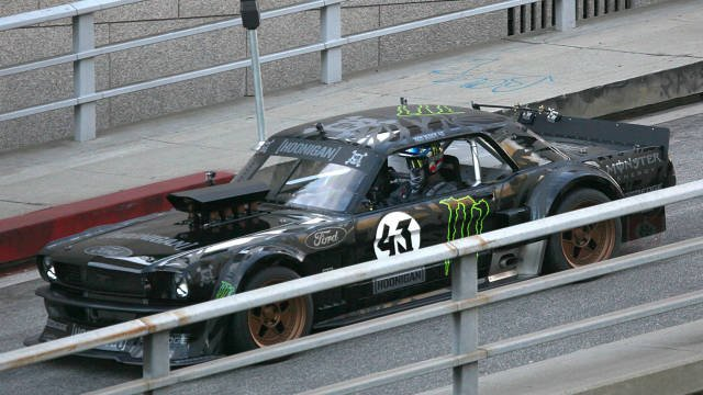 Photo Ford Mustang Ken Block pour Gymkhana 7