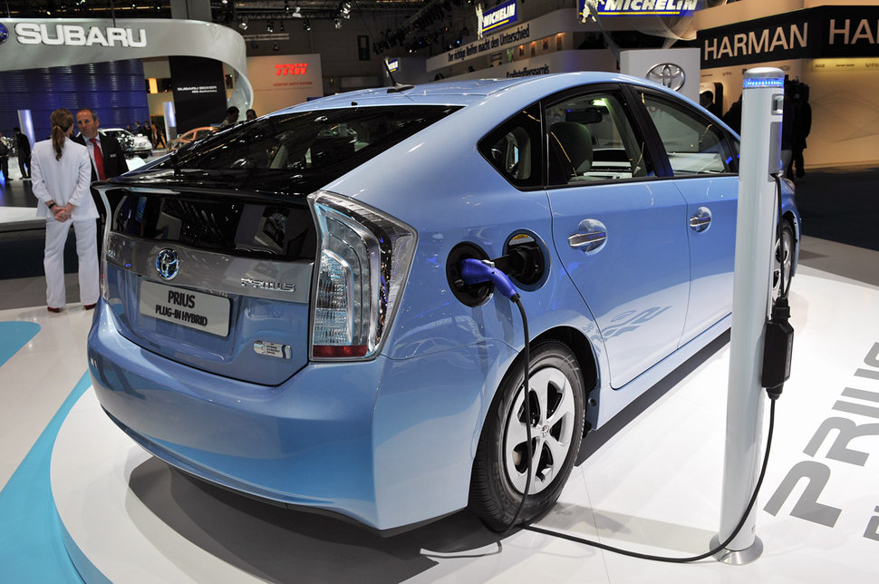 Photo Francfort 2011 : Toyota Prius Plug-In Hybrid rechargeable