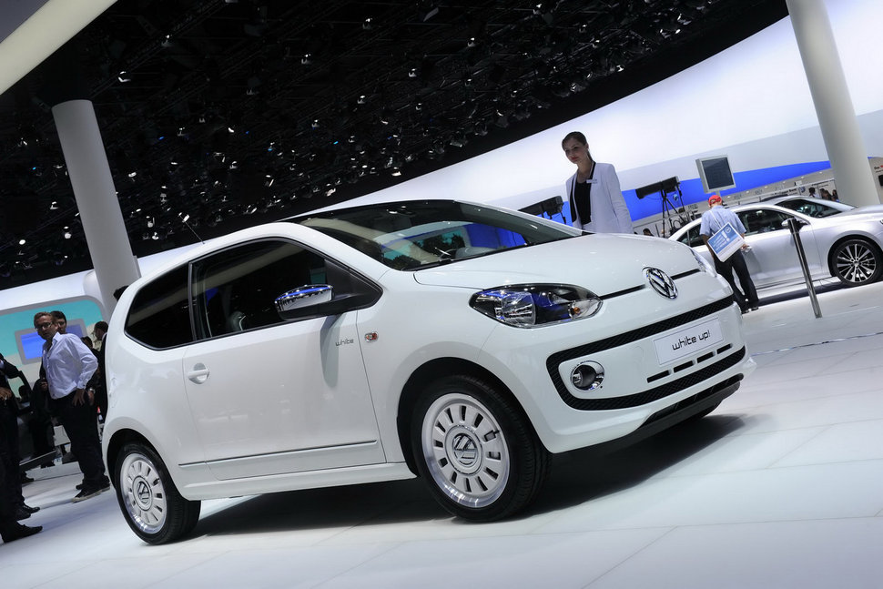 Photo Francfort 2011 : Volkswagen Up! finition White