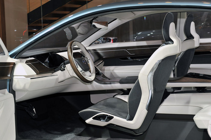 Francfort 2011 : Volvo You Concept habitacle