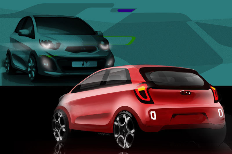 Photo future Kia Picanto (croquis)