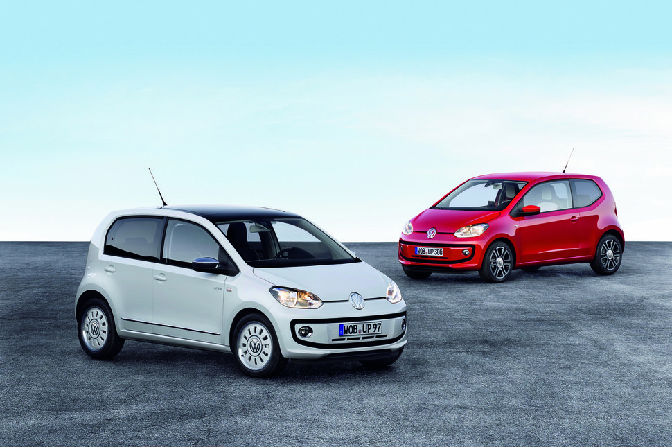 Photo gamme Nouvelle Volkswagen Up!