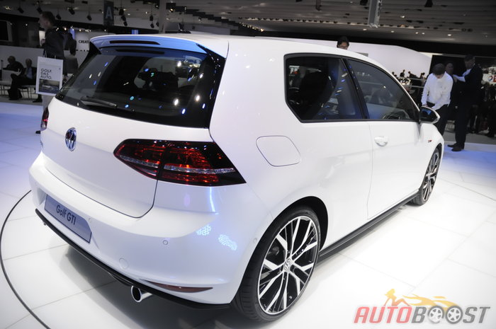 golf 7 gti mondial auto 2012 paris