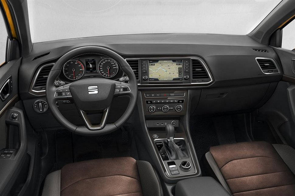 Photo habitacle - Nouveau Seat Ateca