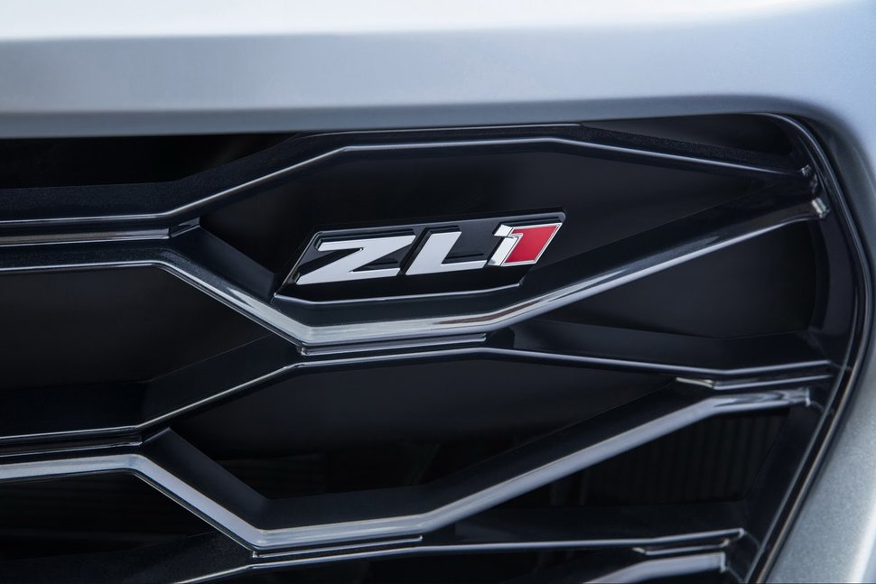 Photo logo : Chevrolet Camaro ZL1