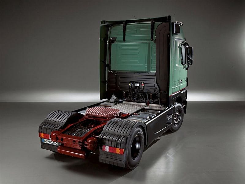 Photo Mercedes Benz Actros Trust Edition