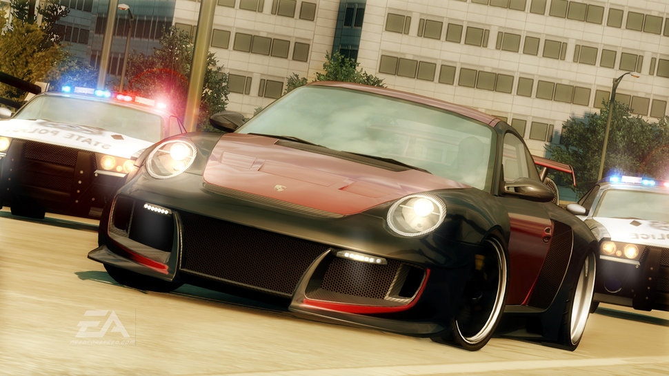 Photo Need For Speed Undercover : Course poursuite