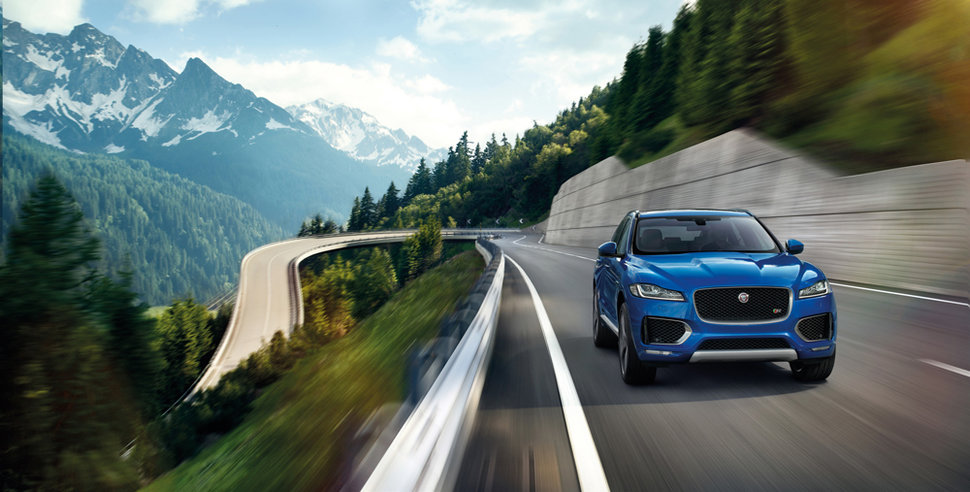 Photo news auto : Jaguar F-Pace