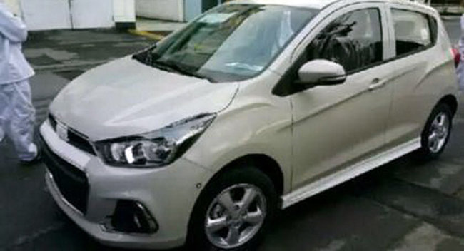 Photo nouvelle chevrolet spark surprise