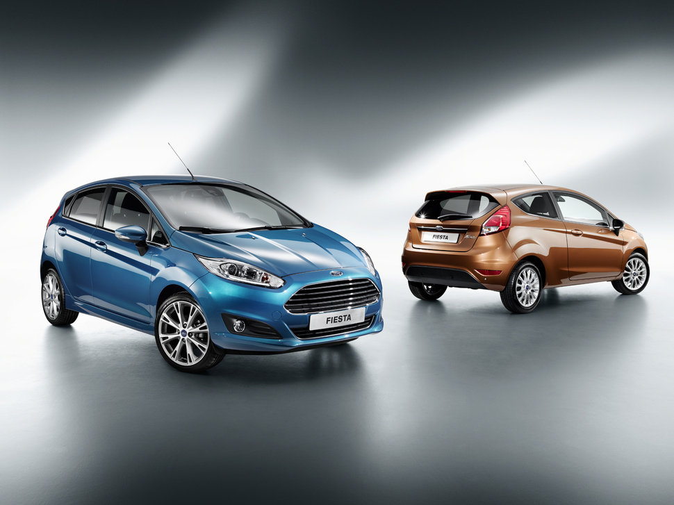 Photo Nouvelle Ford Fiesta restylée