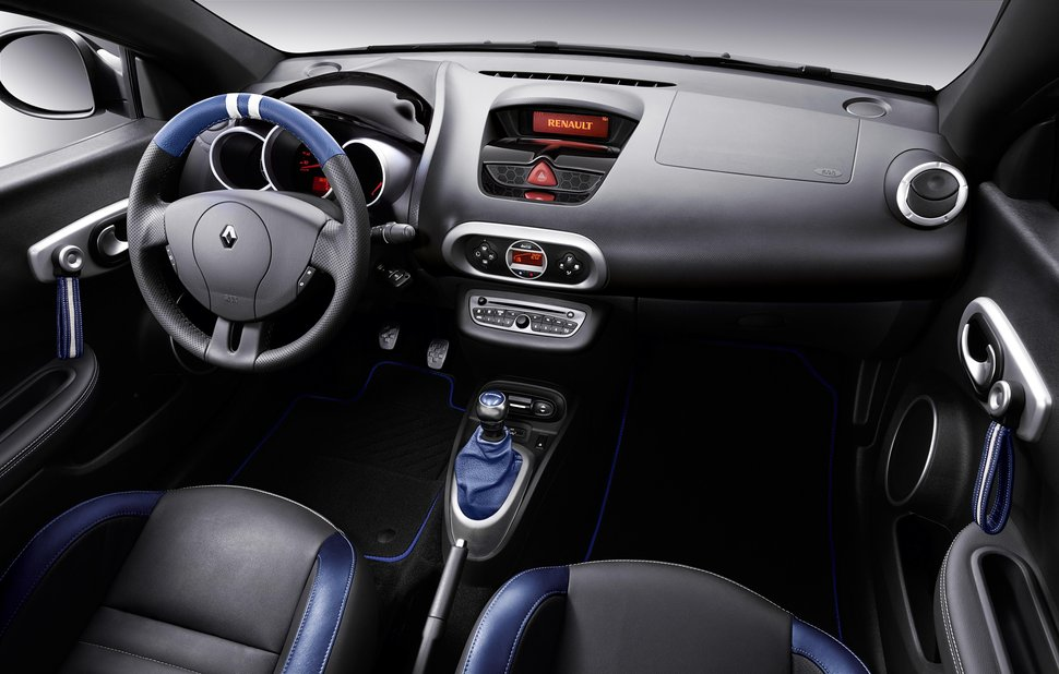 photo officiel nouvelle renault wind gordini interieur cuir. Black Bedroom Furniture Sets. Home Design Ideas
