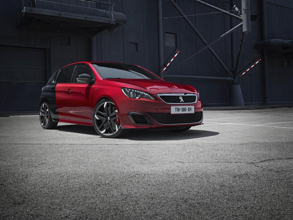 Photo officiel : Peugeot 308 GTi
