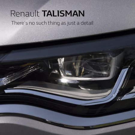 optique LED : Future Renault Talisman