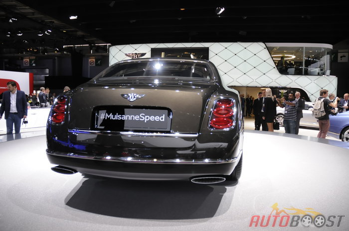 paris 2014 : Bentley Mulsanne Speed