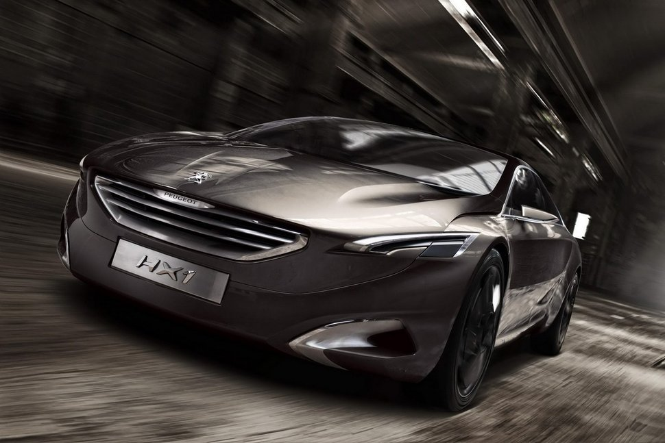 Photo Peugeot HX1 Metamorphosis face avant