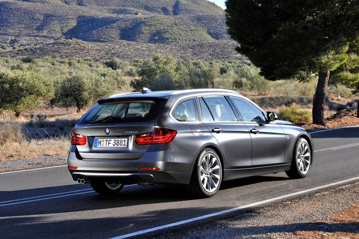Photo : Nouvelle BMW Serie 3 Touring