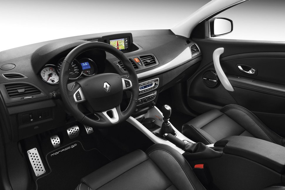 photo renault megane edition monaco gp interieur. Black Bedroom Furniture Sets. Home Design Ideas