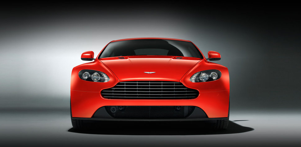 Photo Restylage Aston Martin V8 Vantage face avant