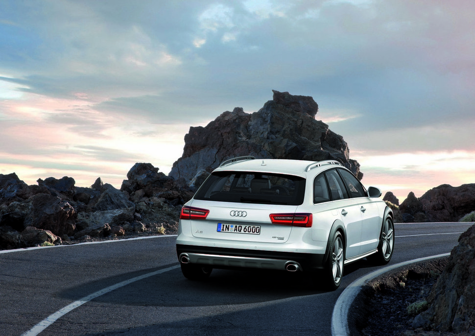 Photo restylage Nouvelle Audi A6 Allroad