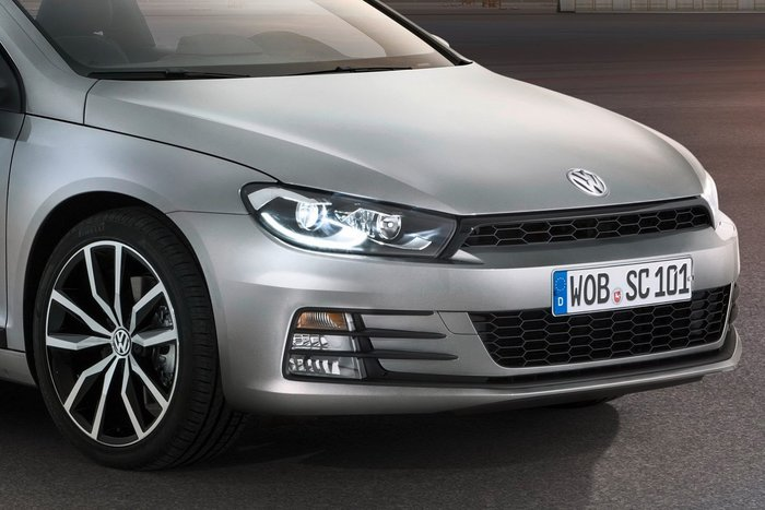 Restylage : Volkswagen Scirocco sa face avant