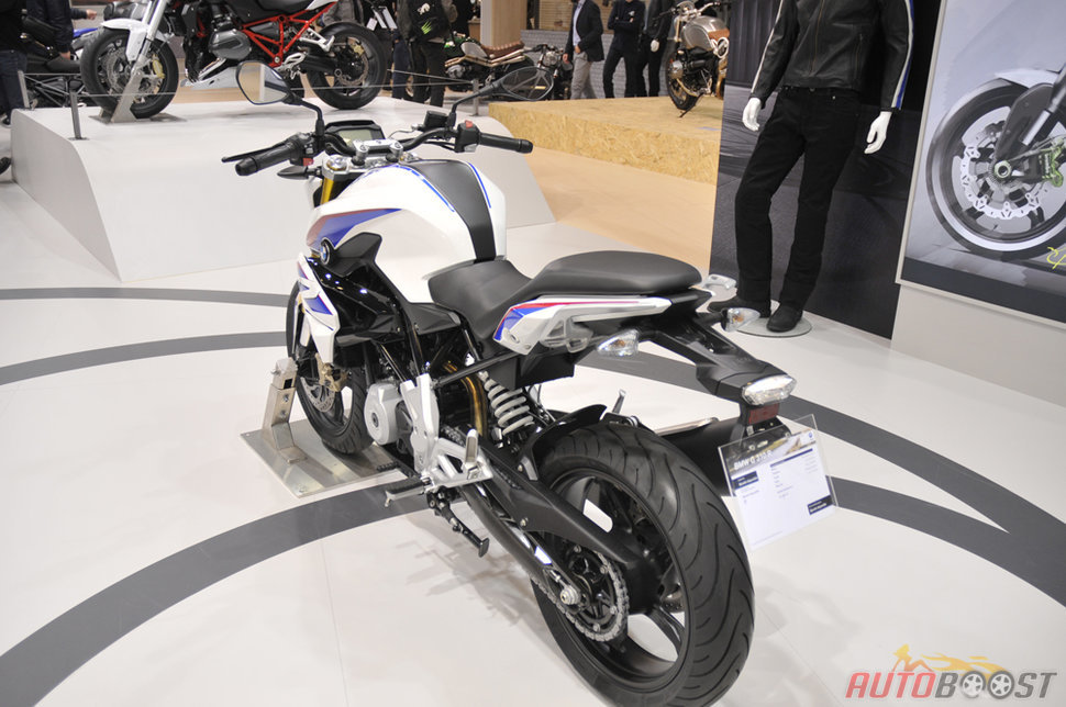 Photo Roadster BMW G310 R