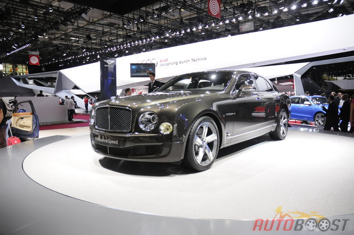 salon Paris 2014 : Bentley Mulsanne Speed