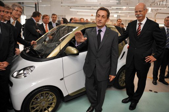 Sarkozy Smart Fortwo ED