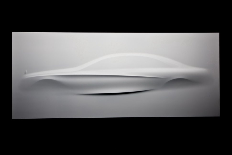 Photo Sculpture : Future Mercedes Classe S