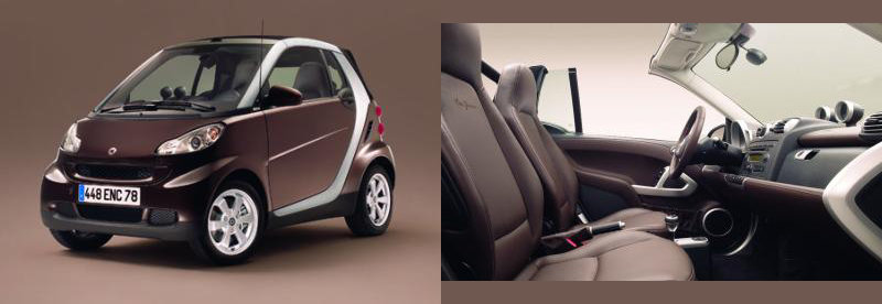 Photo smart fortwo chocolate