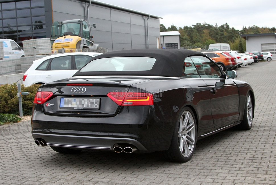 Photo spy : Audi RS5 Cabriolet