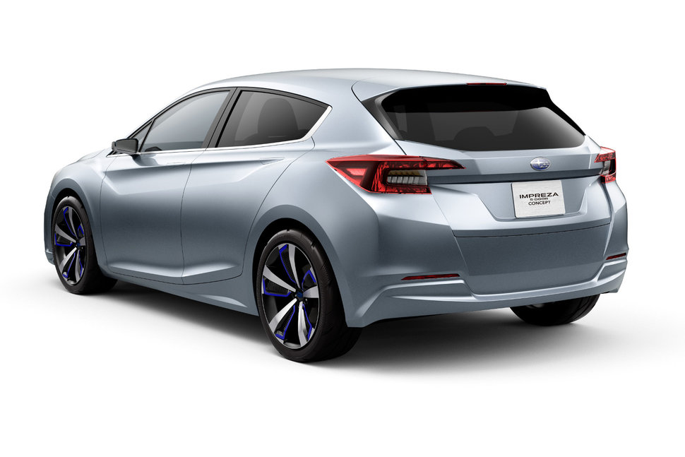 Photo Subaru Impreza 5-Door Concept-Car