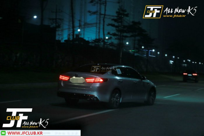 surprise de nuit : Nouvelle Kia Optima