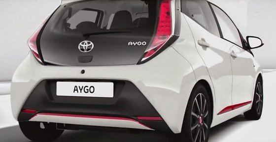 surprise : Nouvelle Toyota Aygo