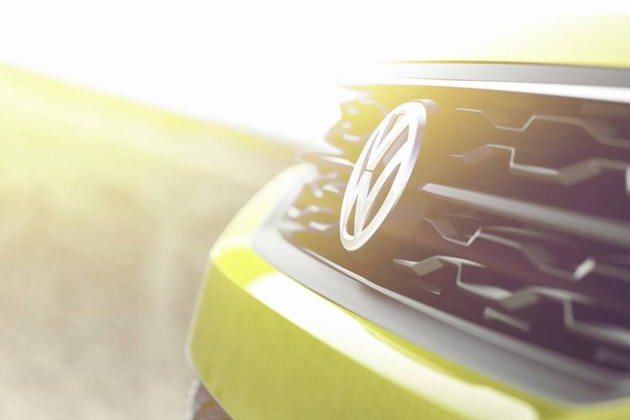 teaser calandre : Volkswagen concept SUV compact
